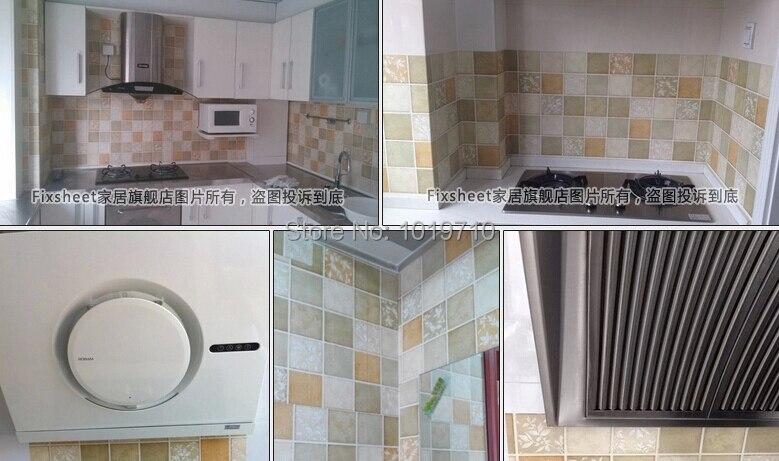 Dinding R Mandi Tahan Air Toilet Stiker Minyak Wallpaper Ubin Dapur Renovasi Dapat Dihapus Di Wall Stickers Dari Rumah Taman Aliexpress