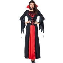 Женский готический костюм вампира vashe вечерние карнавальные