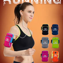 Running Gym Protective Phone Bag Outdoor Waterproof Nylon Sports Arm Bags For Camping Hiking