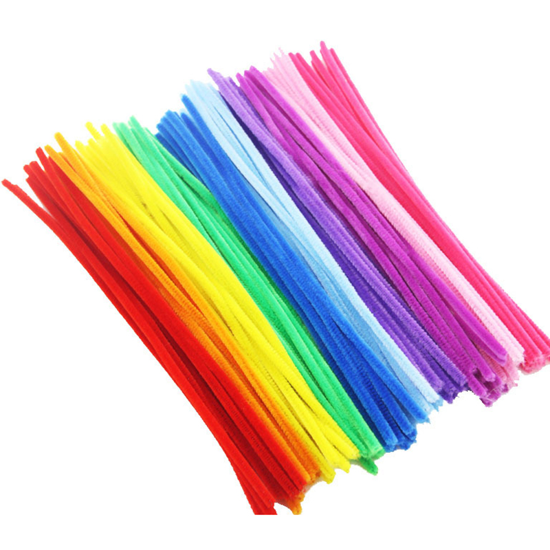 100 Pcs Twist Rods Children Handmade DIY Art Craft Decorations Educational Toys Kids DIY Art Craft Gift Decorations