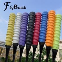FlyBomb vysoce kvalitní badmintonové rakety OverGrips tenisové rakety zábaly protiskluzové keelové rukojeti ruční lepidlo pružnost rybaření overgrip