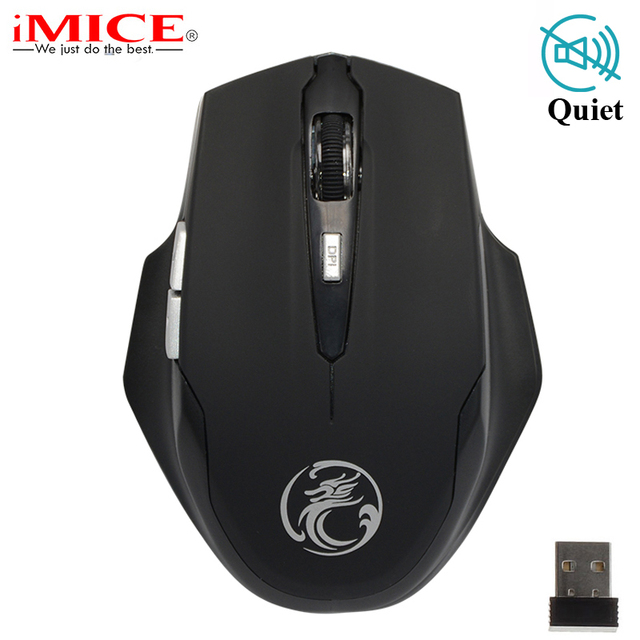 iMice 2.4GHz Wireless Mouse Gaming Ergonomic Mini Silence Buttons Optical USB Computer Mouse Mice Gamer for PC Laptop Notebook