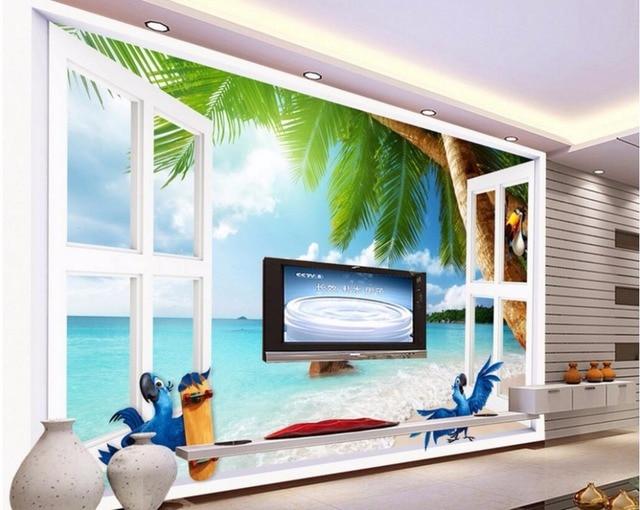 3d pared murales papel pintado para paredes 3 d papel for Papel pintado aislante termico