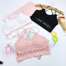a7bd87feae5ad Training bra kids girls Soft Touch Cotton underwear sports kids vest bra for  teens child student