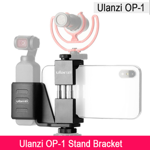 Image 4 - Osmoポケットハンドヘルド電話ホルダーブラケット固定スタンド携帯ホルダーw大広角レンズdji osmoポケットドロップシップ
