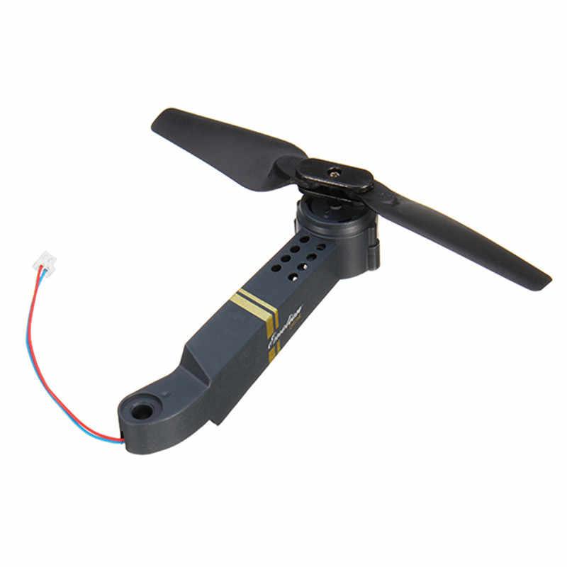 Eachine E58 RC Quadcopter Peças De Reposição Eixo Braços com Motor & Accs Hélice Para Corridas Quadro Zangão FPV Peças de Reposição