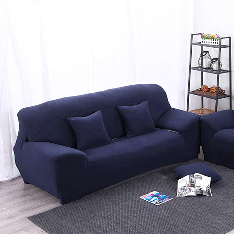 Slipcover For Sofa Without Arms: Arm Chair Three Seater Sofa Cover Slipcover Stretch Lounge