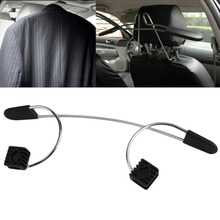 New Arrival Metal Car Coat Hanger Auto Seat Headrest Clothes Jackets Suits Holder Hook Accessories Car Styling Stowing Tiding