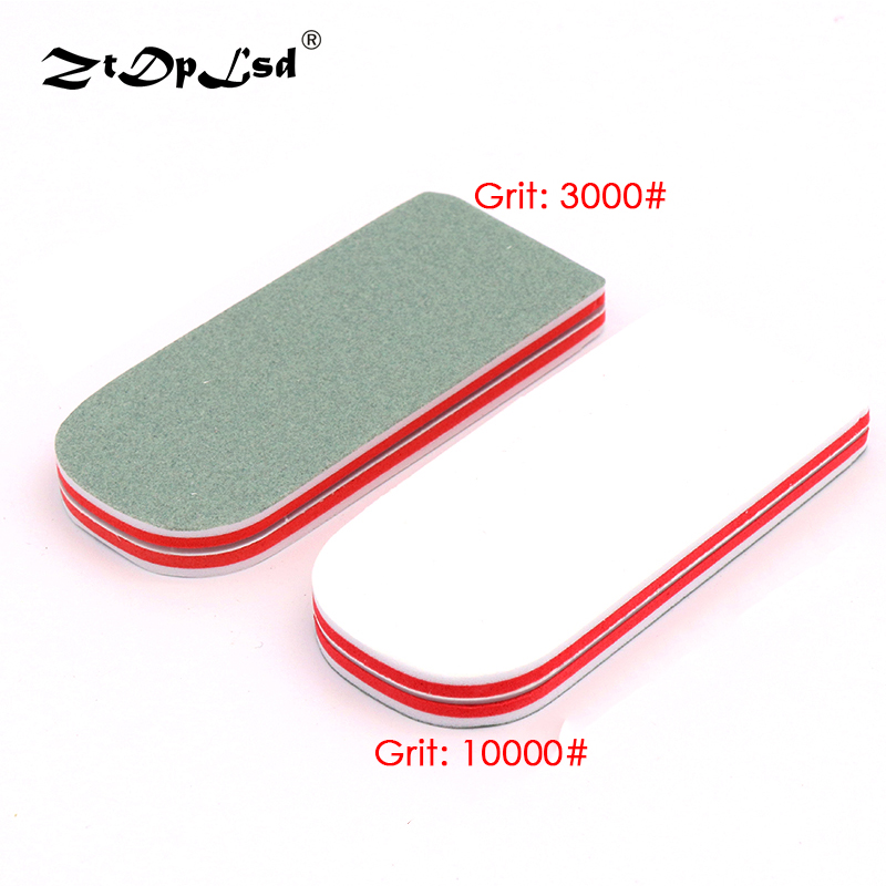 1Pcs Double-side Buffer Block Sanding Sponge Nail File UV Gel Polish Diy Art Pedicure Grind Pad Manicure Woodwork Buffing Tools