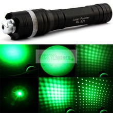 Wholesale prices 3 in 1 532nm Zoomable Green Laser Pointer Flashlight with Star Kaleidoscope Cap 2013 New Version+Battery+Charger