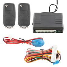 Universal car auto remote central door locking keyless entry system with remote trunk release, window roll-up output