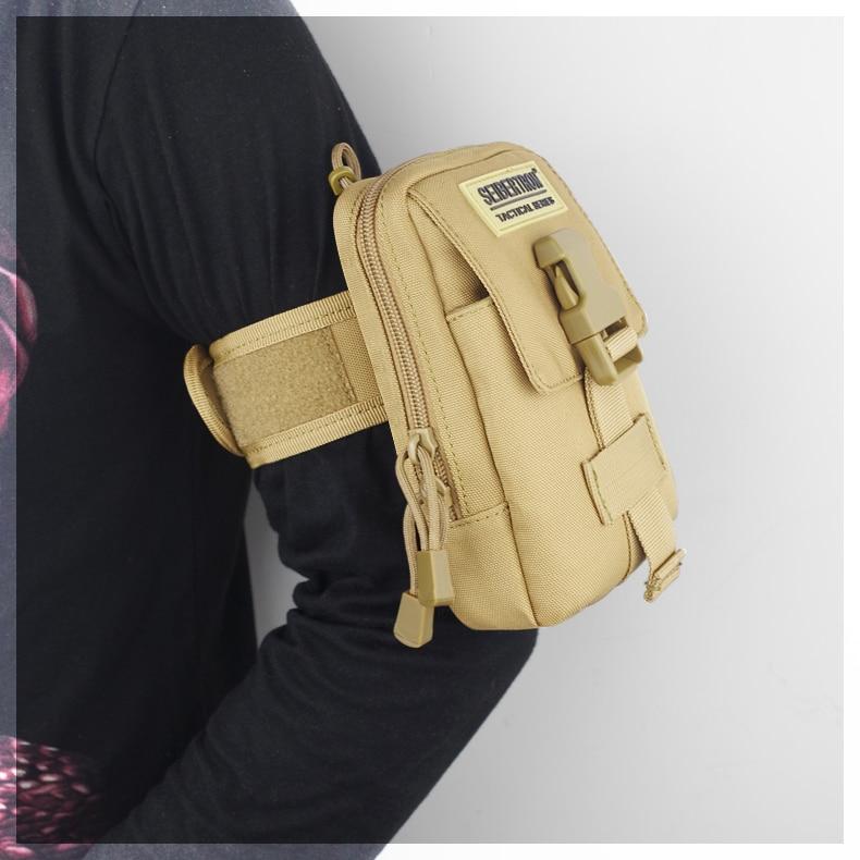 Купить с кэшбэком New Detachable pocket durable high strength/quality Arm Bags Hip pack Outdoor Sporting for Running Trekking Cycling