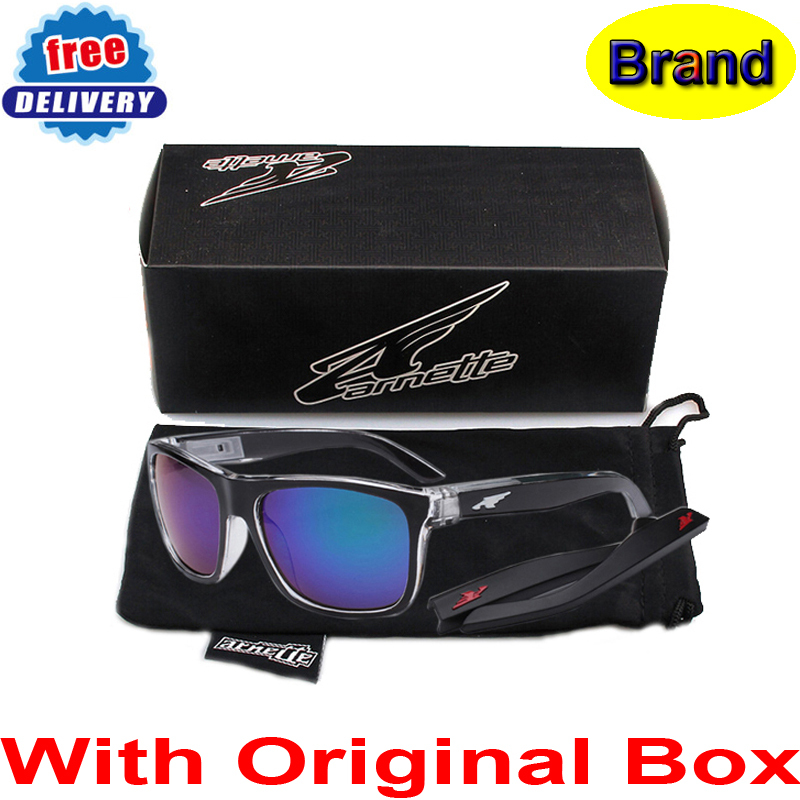 f90ed8b29 With Original Box,Leg Removable Fashion Sunglasses Arnette Brand Eyeglasses  Women/Men Sport Glasses Oculos De Sol Feminino