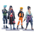 Naruto Anime Figure 4pcs/lot 12cm Generation Naruto Model Toy High Quality Decoration Collection Naruto Toy
