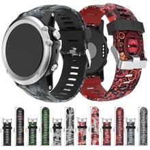 26mm Silicone Watch Band Wrist Strap Bracelet For Garmin Fenix 3/ Fenix 3 HR for Garmin Fenix 5X Smart Watch Watchbands все цены