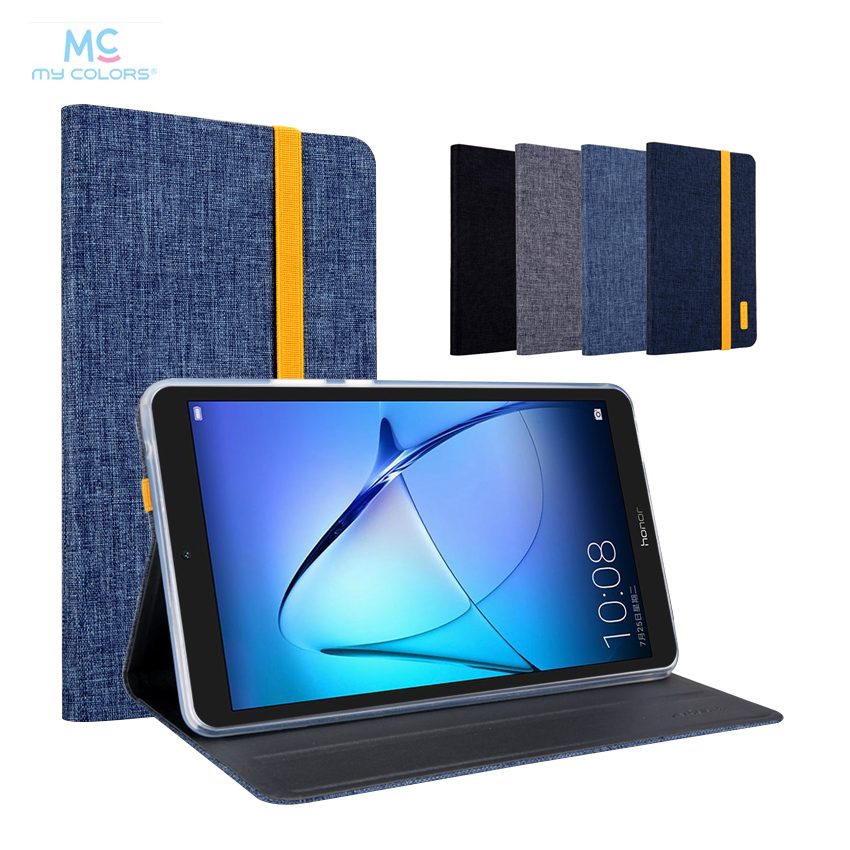 For Huawei T3 7.0 PU Leather Case Cover 7'' Slim Smart Protective Stand Skin For Huawei Mediapad T3 7 WIFI BG2-W09 Tablet Fundas for mediapad m2 ultra thin smart filp pu leather case cover for huawei mediapad m2 7 tablet case stand cover protective stand