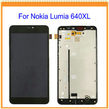 For Nokia Lumia 640 640xl LCD Screen Display with Touch Screen Digitizer Assembly with LCD frame + Tools