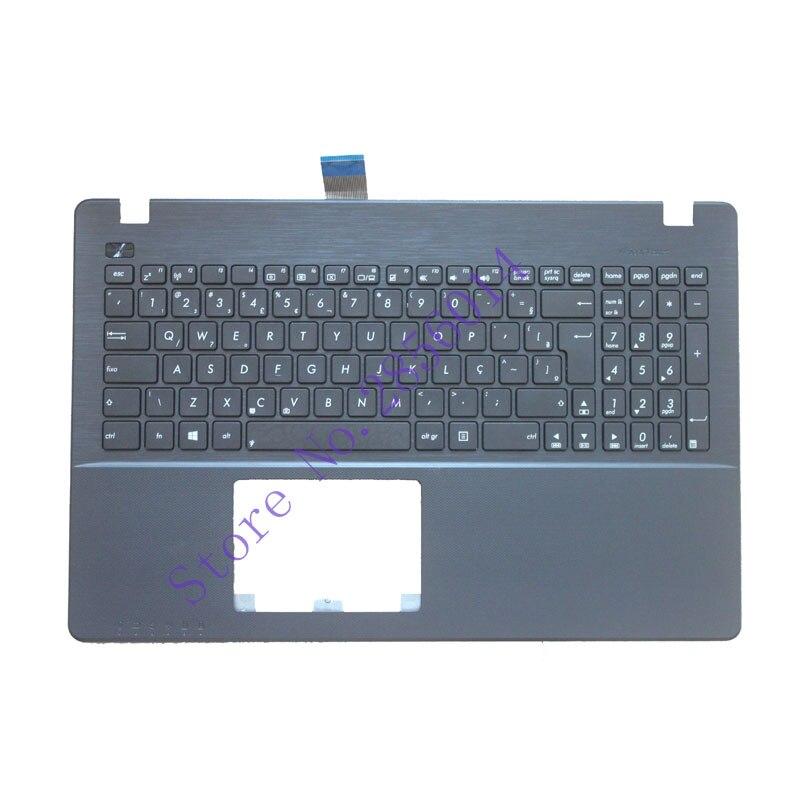 Neue BR Laptop Tastatur für ASUS X550 K550V X550C X550VC A550L Y581C F550 R510L X550J X550V Brasilien Shell Palmrest Abdeckung