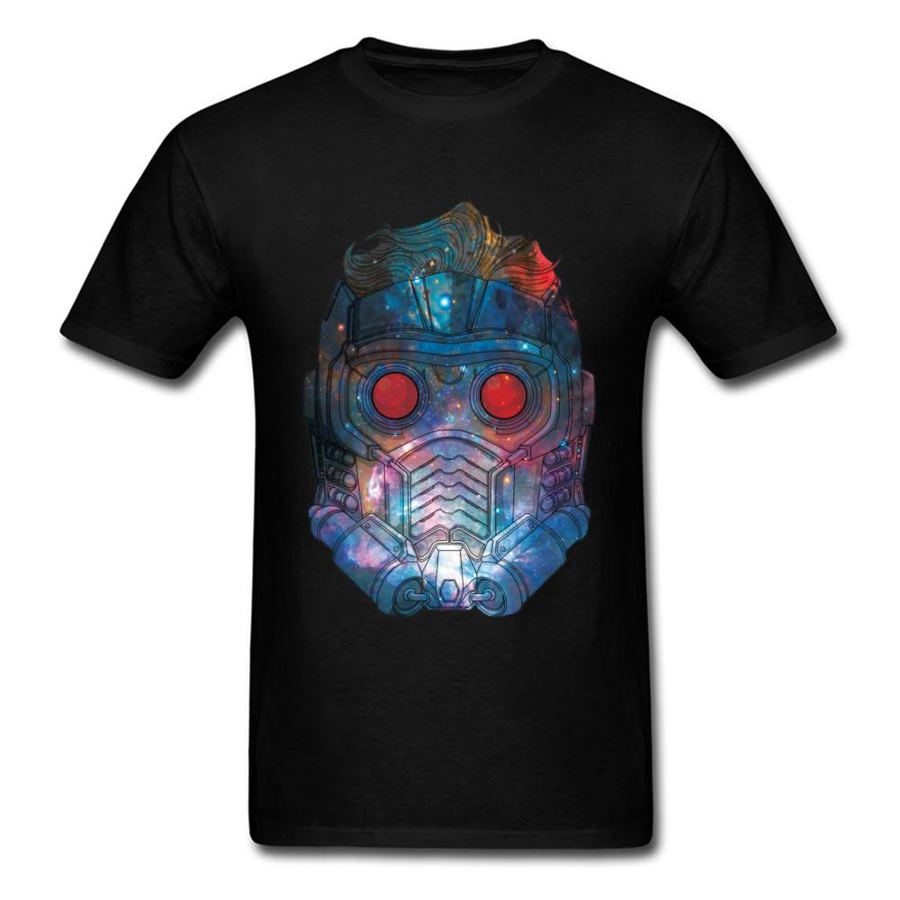 Star Wars Tshirt Men Star Lord T-shirt Young T Shirt Printing Short Sleeve Tops Tees Wholesale Punk Streetwear Star-Lord Galaxy