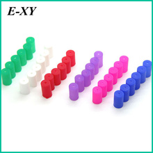 E-XY Vapes Disposable Cap E Cig Silicone Test Drip Tips Cover colorful Mouthpiece Dust Proof Caps For CE4 CE5 CE6 MT3 for vape