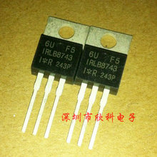 Free shipping 5pcs/lot IRLB8743 TO-220AB 30V 78A 140W N-channel FET original authentic(China (Mainland))
