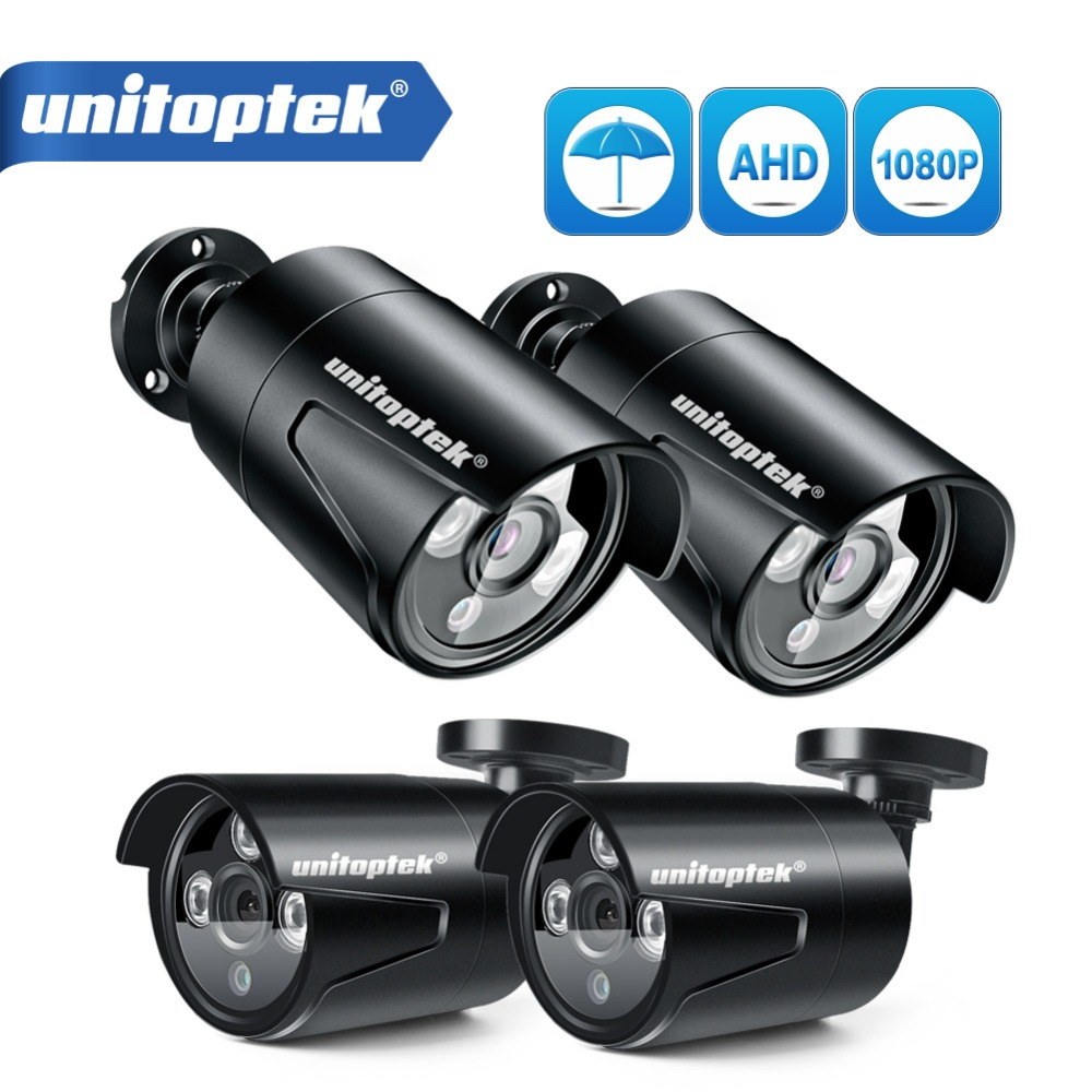 4CH 1200TVL безопасности камера системы Система AHD CCTV DIY Kit только 4x1080 P 2.0MP ИК Открытый AHD-H наблюдения комплект