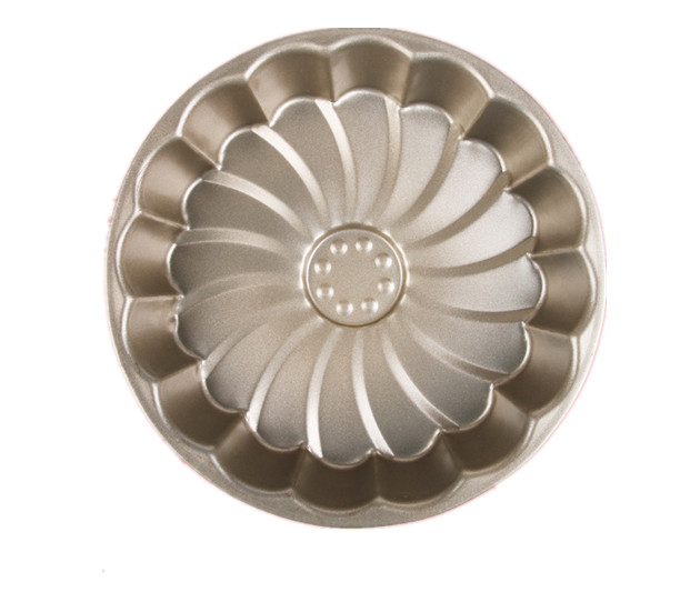 Non Stick Flower Shaped Bakeware Carbon Steel Fluted Diy