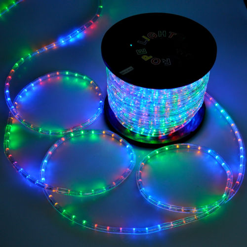 150 rgb 2 wire led rope light outdoor multi color home valentine 150 rgb 2 wire led rope light outdoor multi color home valentine decoration aloadofball Images