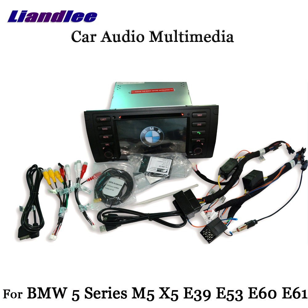 Liandlee Android Pour BMW 5 Série M5 X5 E39 E53 E60 E61 1999 ~ 2006 Stéréo Radio TV Carplay Caméra GPS Navi Navigation Multimédia - 5