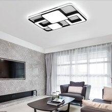 Современные потолочные светильники, светодиодный светильник для гостиной, ночник с подставкой, прямоугольная Современная потолочная лампа для детей