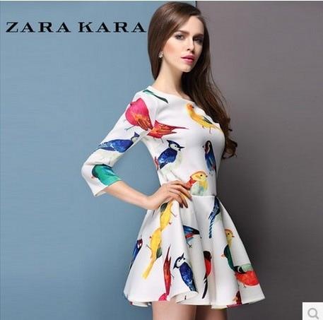 online shop channel european style vestidos clothing set spring retro dresses women dress new floral casual girl vintage dress aliexpress mobile