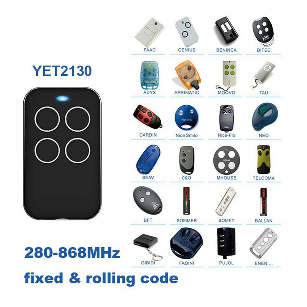 315 418 433 868mhz multi frequency wireless universal garage clone remote control key electric