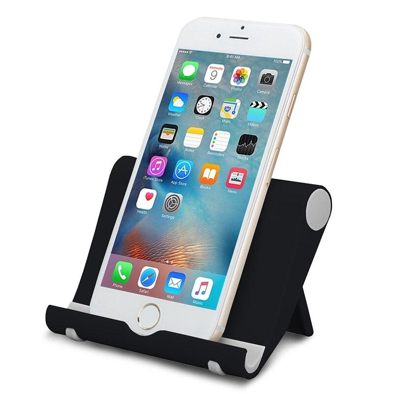 Rondaful Universal Desk Cell Phone Stand Holder Telefon Tutucu Foldable Adjustable Tablet PC Holder for iPad iPhone 5 6S Samsung