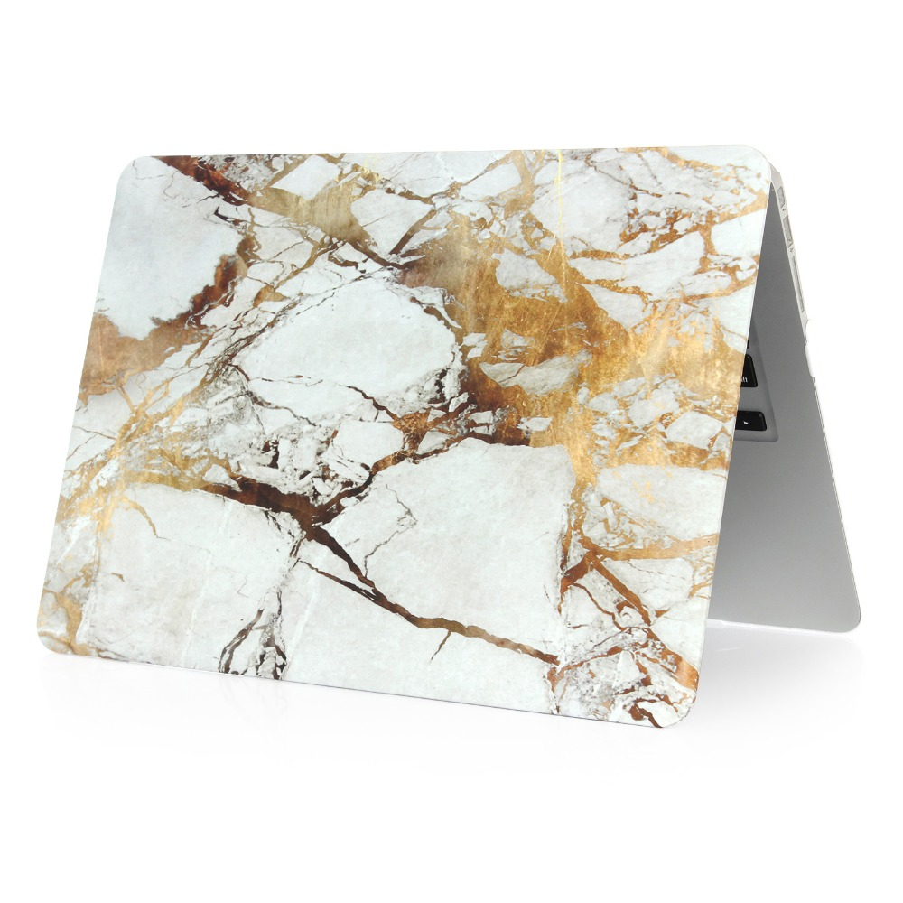 Image 3 - Marble Pattern Hard Case & Keyboard Cover For Macbook Pro 13.3 15.4 Pro Retina 12 13 15 inch for Mac book Air 11 13 Laptop Case-in Laptop Bags & Cases from Computer & Office