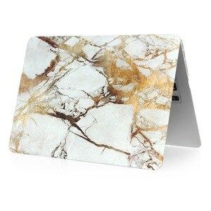 Image 3 - Marmor Muster Hard Case & Tastatur Abdeckung Für Macbook Pro 13,3 15,4 Pro Retina 12 13 15 zoll für Mac buch Air 11 13 Laptop Fall