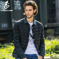 Pioneer Camp Casual Winter Down Jacket Men Top Quality Brand Clothing Down Coat Men Casual Winter