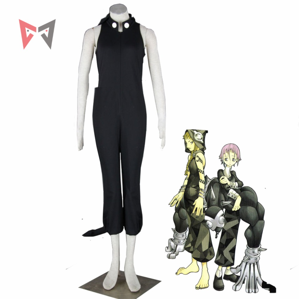 MMGG Halloween anime cosplay  Soul Eater cosplay Medusa cosplay costume magic cat dress witch outfit