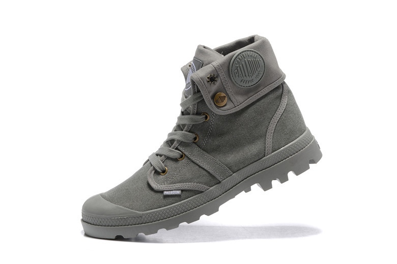 d30e7266f4420d Toile Pallabrouse Bottines Gray Gris 39 Militaire Casual All Sneakers Haute  Palladium Eur top Hommes Chaussures Taille 45 Bdxzqww8