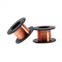kasi 0 01mm 0 02mm 120m enameled copper wire polyurethane enameled copper line soldering solder for iphone chip conductor wire 5pcs/set 0.1mm 15m Enameled Wire Soldering Wire Kit Magnet Wire Tool Copper Wire Accessories