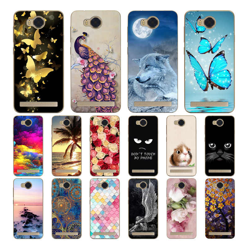 "Geruide For Huawei Y3 II Y3 2 Lua-L21 LUA-U22 Case, Soft Silicone TPU Back Cover Case For Huawei Y3II 4.5"" Phone Cases"