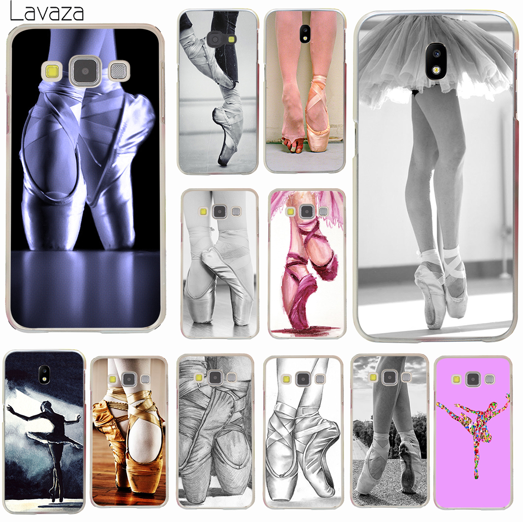 Lavaza Ballet Pointe Shoes Ballerina Hard Phone Case for Samsung Galaxy J3 J1 J2 J7 J5 2015 2016 2017 J2 Pro Ace J7 J3 J5 Prime