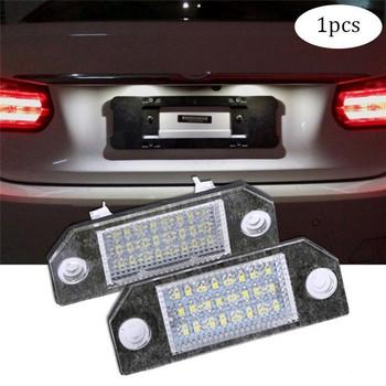 1 sztuk 5W Led numer rejestracyjny wysokiej jakości dla Ford Focus MK2 numer oświetlenie tablicy rejestracyjnej lampa dla 2003-2008 Ford Focus MK2 #292256 tanie i dobre opinie Bostar CN (pochodzenie) 120lm T10 (W5W 194) 12 v 0 03kg Uniwersalny 50000h 5000K approx 8 5cm 3 35inch x 3 15cm 1 24inch