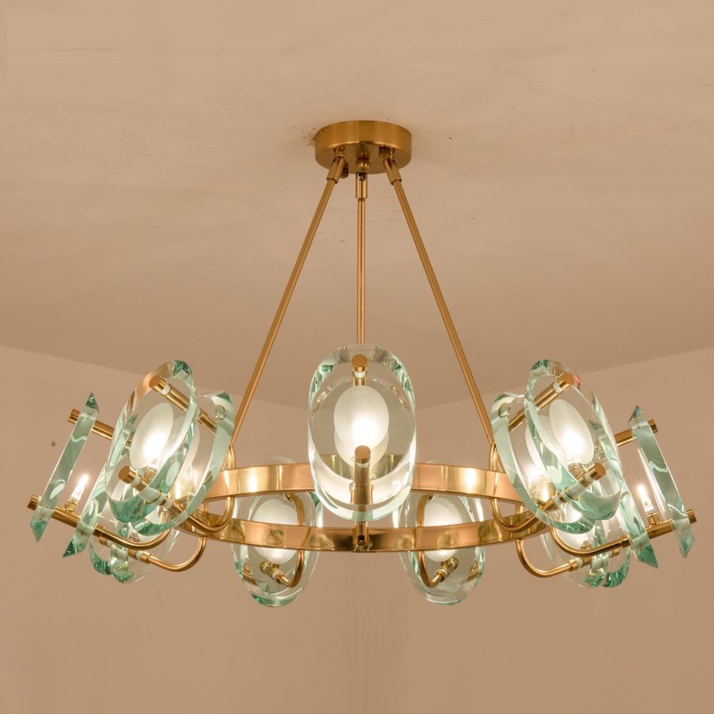 Modern Luxury Crystal Chandelier Living Room Designer Lamp Nordic Restaurant Villa Hotel Led Decorative Lights Leather Bag