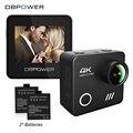 DBPOWER L1040 4 К Wifi Действий Камеры 2.0 Дюймовый ЖК-Экран 4 К/24FPS 1080 P/60FPS Водонепроницаемый 3D Anti-Shake Технологии Go Sport Cam Pro
