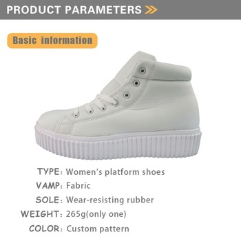 BTS High Top Winter Shoes for Girls