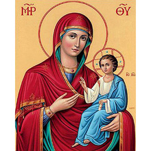 5d diamond Embroidery Virgin Mary Jesus diy painting cross stitch for children puzzle mosaic crafts Y2229