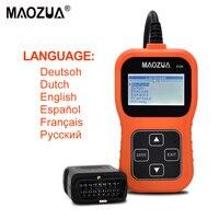 2017 New MAOZUA Z130 Car Diagnostic Tool Auto Code Reader Universal Scan Tool Russian Language Better