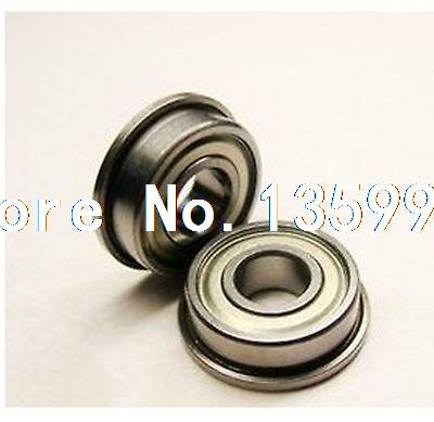 (2) 5 x 9 x 3mm SMF95ZZ Stainless Steel Shielded Flanged Model Flange Bearing(2) 5 x 9 x 3mm SMF95ZZ Stainless Steel Shielded Flanged Model Flange Bearing
