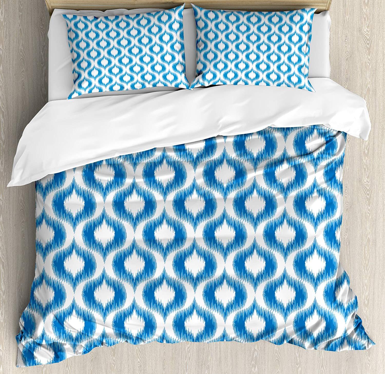 duvet cover set damask inspired ikat style ethnic pattern vintage rh aliexpress com