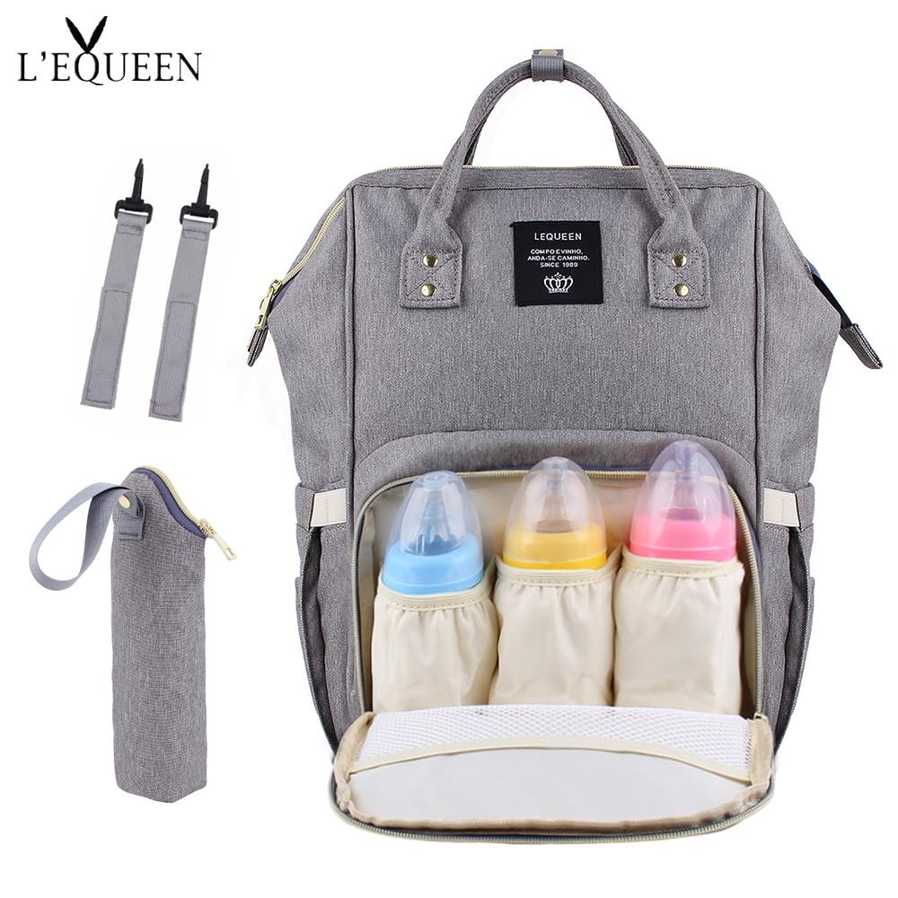 8de3e15e33 2019 USB Interface Mummy Bag Backpack Large Capacity WaterProof Baby Diaper  Bag Maternity Carry Bolsa Luiertas Bag For Baby Care